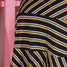 vestido azul marinho listrado stefanie tata martello tm5176az costas baixo detalhe