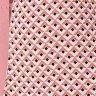 vestido gode transpassado coral estampas geometricas tata martello 5255c frente baixo detalhe