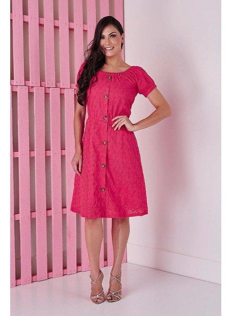 vestido gode pink em lesie tata martello 5238pk frente