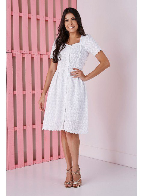 vestido branco gode em lesie tata martello ta425149 frente