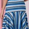 conjunto azul tricot evase tata martello ta965577 costas baixo