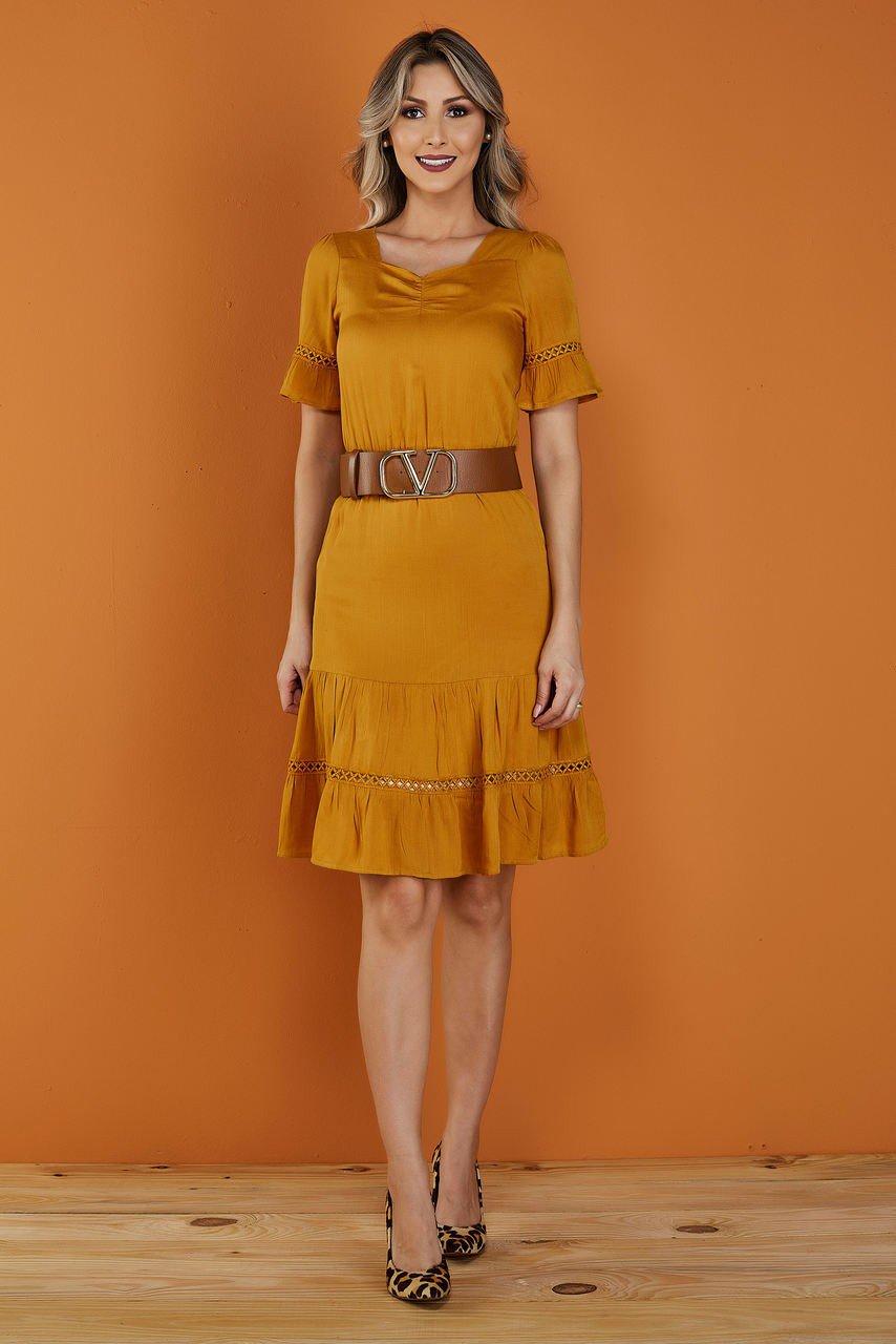 Amarelo Mostarda