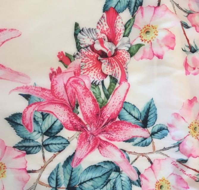 Floral Rosa